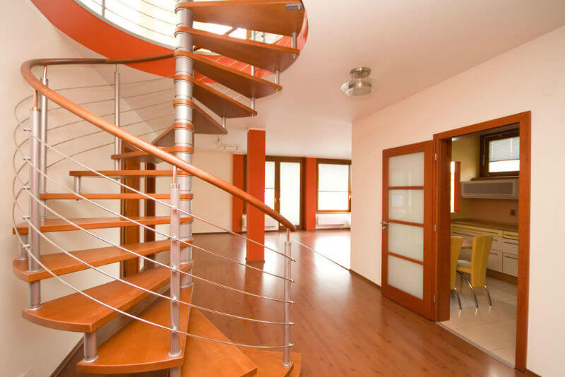 Лестницы винтового типа