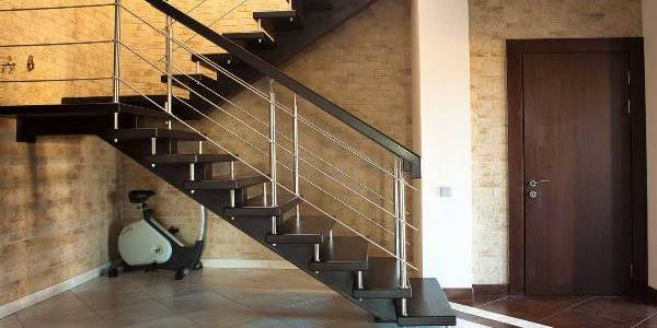 Современные ограждения лестниц
