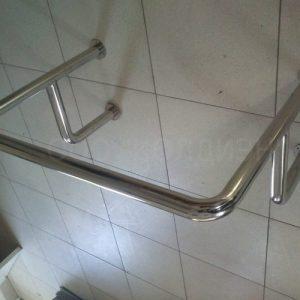 Поручень для инвалидов Инва для раковины верхний от 6 000 руб./м